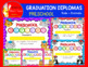 END OF THE YEAR PRESCHOOL ANIMALS AND KIDS GRADUATION DIPLOMAS