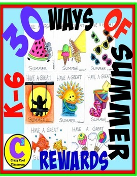 BRAG TAGS - 30 SUMMER REWARDS