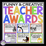 END OF THE YEAR AWARDS FOR TEACHER / STAFF MEMBER