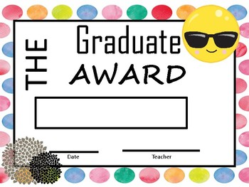 END OF THE YEAR awards - Emoji Theme