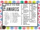 END OF THE YEAR awards and superlatives  (PBIS / SEL)