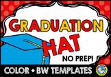 END OF YEAR ACTIVITY KINDERGARTEN, THIRD GRADE END OF YEAR CRAFT) GRADUATION HAT