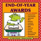 END-OF-YEAR AWARDS      Grades 3-6