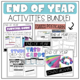 END OF YEAR Activities BUNDLE!