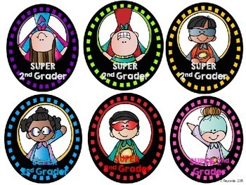 Superhero Brag & Name Tags {FREE}