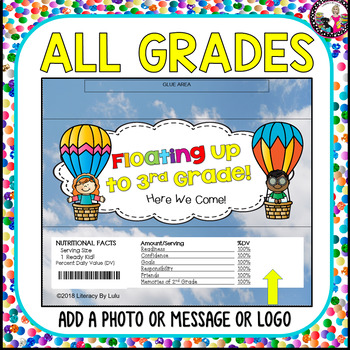 END OF YEAR Candy Bar Wrappers for K-5! Bundle!