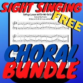END OF YEAR Chorus/Sight Singing Worksheets BUNDLE!