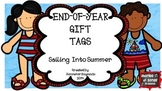 END-OF-YEAR GIFT TAGS--SAILING INTO SUMMER