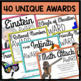 END OF YEAR MATH AWARDS