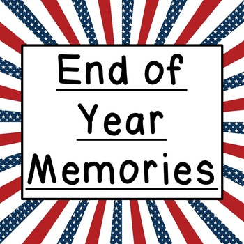 END OF YEAR MINI MEMORY BOOK