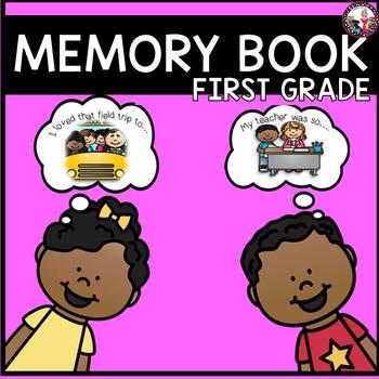 1st Grade Memory Book!