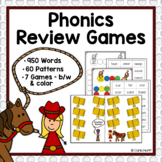 Phonics Review Games - 60 Sound-Spelling Patterns!