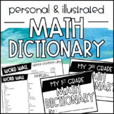Personal/Illustrated Math Dictionary Booklet