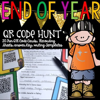 END OF YEAR: QR CODE HUNT