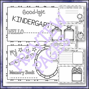 End of Year Songs, Games, Scrapbook Craftivity K-3 PREVIEW