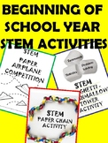 END OF THE SCHOOL YEAR STEM CHALLENGES!