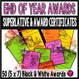 End of Year Dateless Awards 50 Black and White Awards for