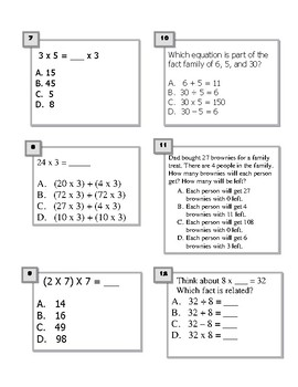 END of THIRD GRADE Assessment COMMON CORE K-PREP REVIEW