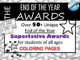 END of the YEAR awards- coloring (stars and hearts) #hoppyhalfdeals