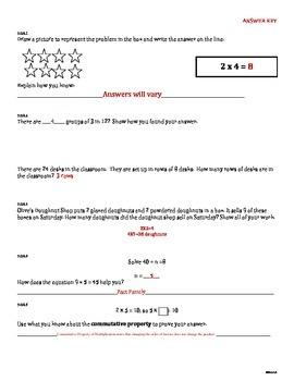END of the Year Benchmark Assessment 3rd Grade Common Core