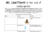END of year ABC countdown!