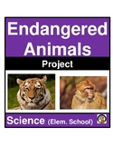 PROJECT-BASED LEARNING- ENDANGERED ANIMALS RESEARCH PROJECT- SCIENCE
