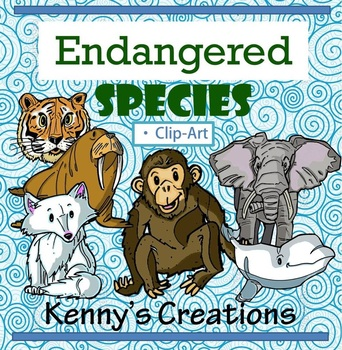 ENDANGERED Species Clip ART