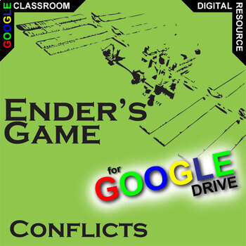 ENDER'S GAME Conflict Graphic Organizer (Created for Digital)