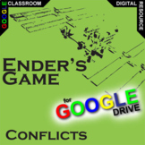 ENDER'S GAME Conflict Graphic Analyzer (Created for Digital)