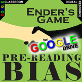 ENDER'S GAME PreReading Bias Activity (Created for Digital)