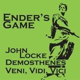 ENDER'S GAME Locke, Demosthenes, Veni Vidi Vici Slideshow