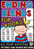 ENDING BLENDS ACTIVITIES (FLIP BOOKS)