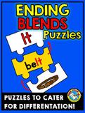 ENDING BLENDS CENTER: ENDING BLENDS PUZZLES: ENDING BLENDS