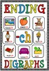 ENDING DIGRAPH POSTER- CH(flash freebie)