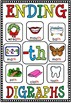 ENDING DIGRAPH POSTER- TH(flash freebie)