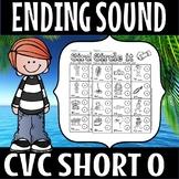 ENDING SOUNDS -short o