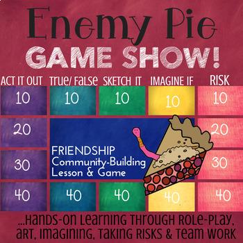 ENEMY PIE by Derek Munson *Friendship Lesson & Game on Making Friends
