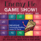ENEMY PIE: Book Study & School Counseling Lesson & Game about Friendship