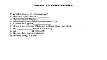 ENERGY REVISION SPINNER GAME (INTERACTIVE)
