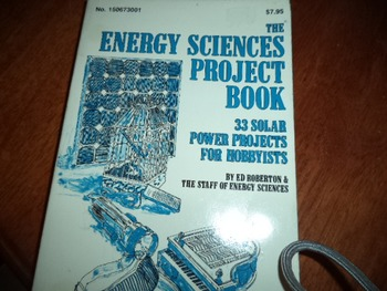 ENERGY SCIENCES PROJECT BOOK  150673001