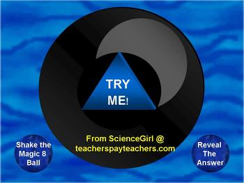 ENERGY UNIT MAGIC BALL REVIEW POWERPOINT GAME