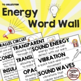 ENERGY WORD WALL - From the TC Collection