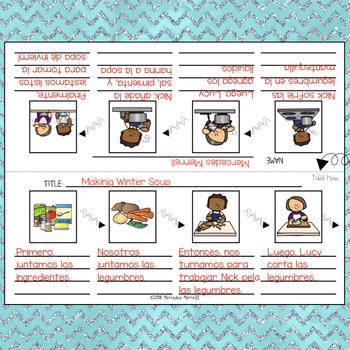 ENERO Tarjetas de Vocabulario, Días Festivos + MÁS ... Grados 1-3