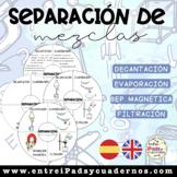 ENG + ESP: SEPARATING MIXTURES / SEPARACIÓN DE MEZCLAS