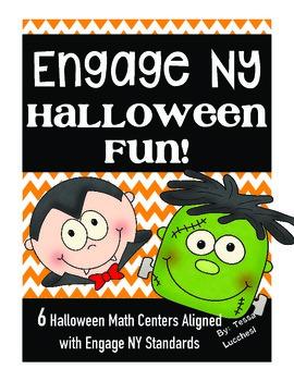 ~Eureka Math Centers~3rd Grade (Halloween)
