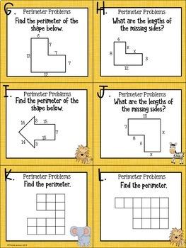 ~Eureka Math Centers~3rd Grade (Module 7)