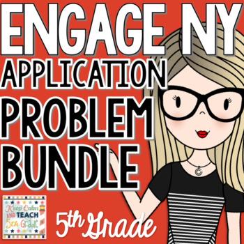 ENGAGE NY 5th Math Application Problem Workbook Bundle
