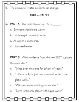 ENGAGE NY EL 3rd grade M4U1 No-Prep Printables