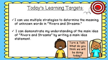 ENGAGE NY EL 3rd grade Module 4:  Unit1, Lesson 6 PowerPoint