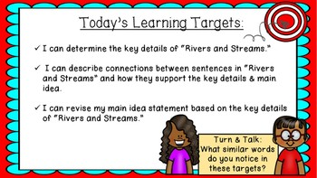 ENGAGE NY EL 3rd grade Module 4:  Unit1, Lesson 7 PowerPoint
